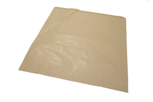 """100x White Sulphite Flat Paper Bags White Food Grocery Sandwich Bags 12/"""" x 12/"""""""