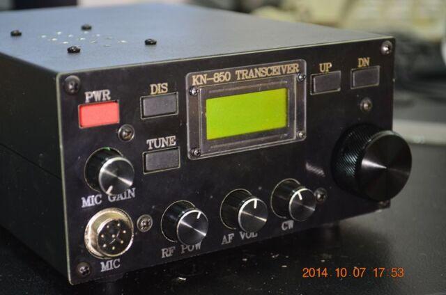 HF 6 Band 3-15W HF TRANSCEIVER QRP  SSB/CW Dual mode KN-850