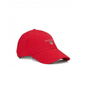 Image is loading GANT-Cap-Cotton-Twill-Adjustable-Baseball-Hat-Red d07f0ca1163b