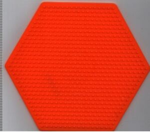 Large-Hexagon-Pegboard-for-Hama-Perler-fuse-beads-6-25-034-x-5-5-034-NEW