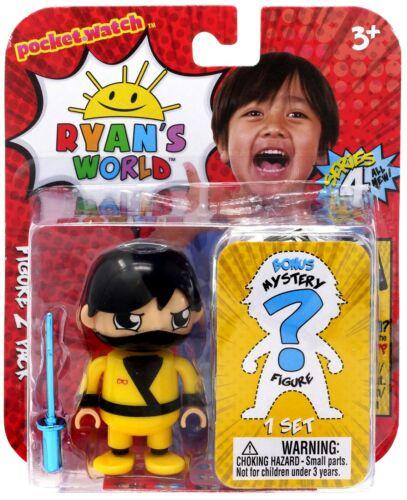 Ryan/'s World Series 4 Ninja Warrior Ryan /& Mystery Action Figure 2-Pack