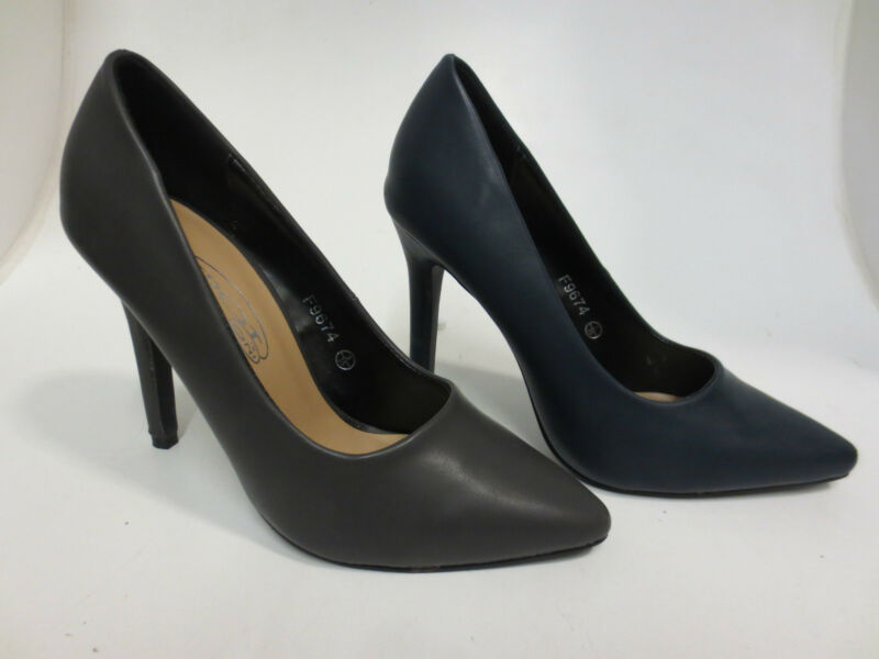 Offerta Spot On F9r674 Donna Stiletto Court Shoes