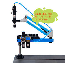 Universal Flexible Arm Pneumatic Air Tapping Machine 360 Angle 1900mm M3 M12