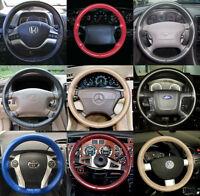 Wheelskins Genuine Leather Steering Wheel Cover For Honda Element