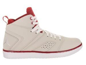 123afee2374 Mens Nike Jordan Flight Legend Light Bone Basketball Trainers AA2526 ...