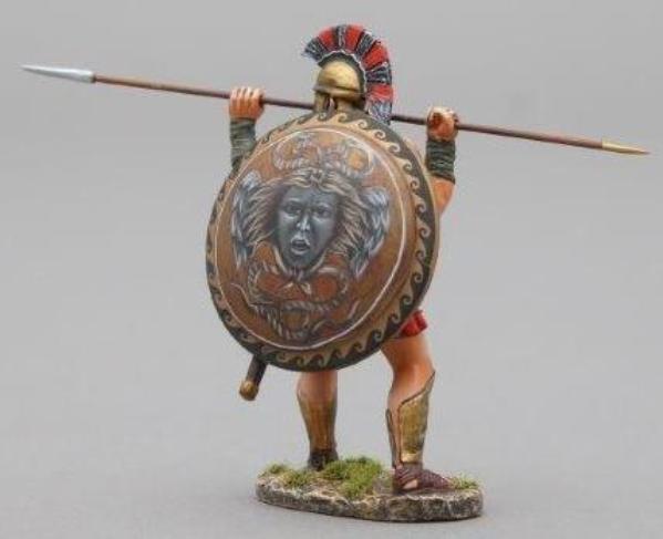 Thomas Gunn Antik GREEKS & Persians spa010j Spartan Thrusting mit Speer MIB