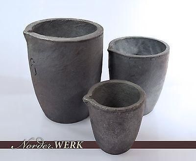 Schmelztiegel für Schmelzofen Metall Tiegel Graphittiegel Schmelzschale  Metall