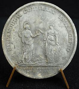Medaille-Levee-du-siege-de-Guise-par-les-espagnols-Espagne-1650-Louis-XIV-medal