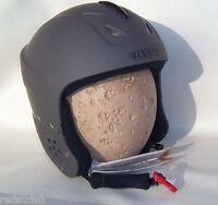 Sinner Rodeo Youth Junior Childs Unisex Ski Snowboard Helmet Matt Grey