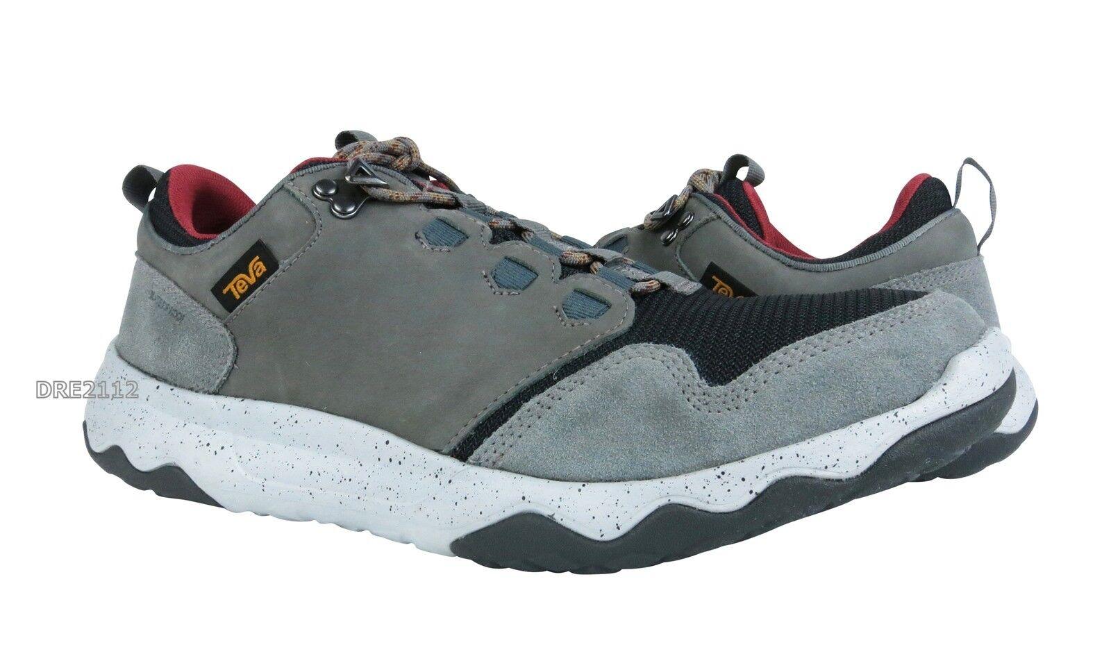 Teva Arrowood Waterproof Grey Leather Shoes Mens Size 11.5 *NIB*