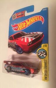 Hot Wheels Dodge Challenger Drift Car Hw Speed Graphics 3 10 Red 178