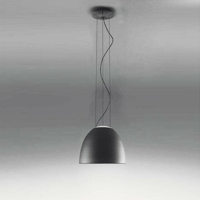 Artemide, Nur Mini Sospensione Led Antracite, Ernesto Gismondi, 2006