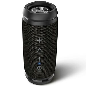 TREBLAB HD7 Mini Bluetooth Speaker Waterproof Portable Wireless 12W Loud Small