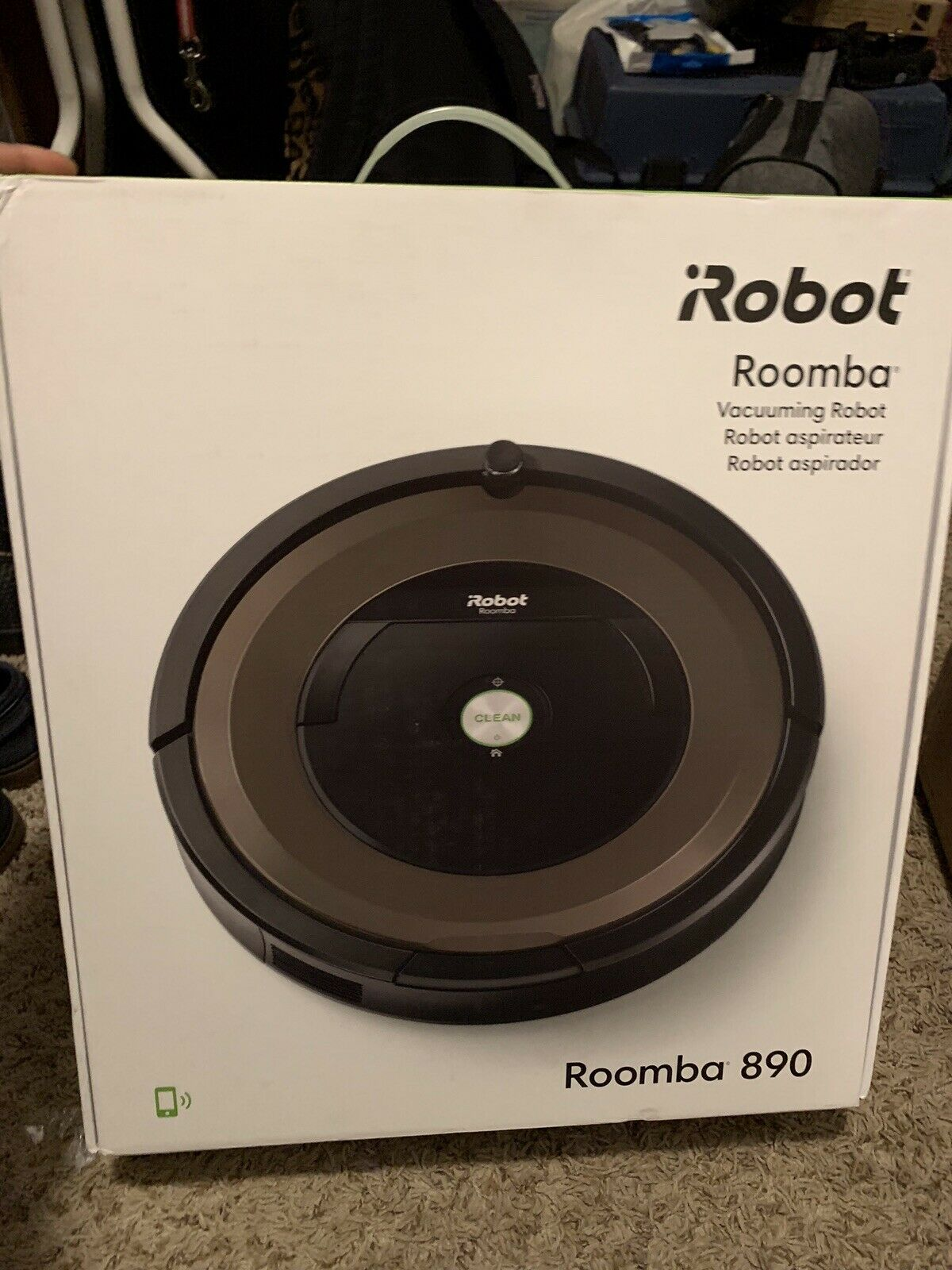 IRobot R890020 Roomba 890 Robot Vacuum With Wi-fi CONNECTIVITY