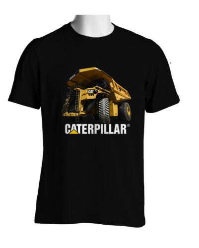CAT CATERPILLAR HAUL TRUCK F797 Black Shirt Sz S-3XL Longsleve hoodie avalbl