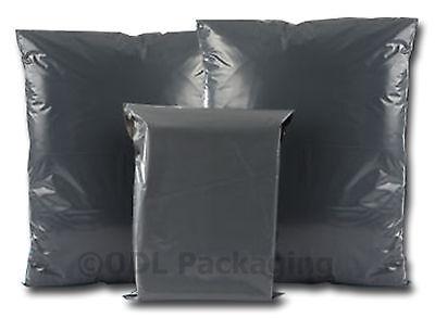 10 Grey Plastic Mailing/Mail/Postal/Post Bags 18 x 22