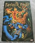Fantastic Four 2005 Thing Human Torch Reed Mike McKone PROMO Marvel Poster FN