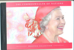 Section SpéCiale Australie-prestige Brochure Commonwealth Of Nations Neuf Sans Charnière Royalty-tige Booklet Commonwealth Of Nations Mnh Royaltyfr-fr Afficher Le Titre D'origine