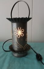 Lamp Candle holder tin elc bulb heating melting candle   sent