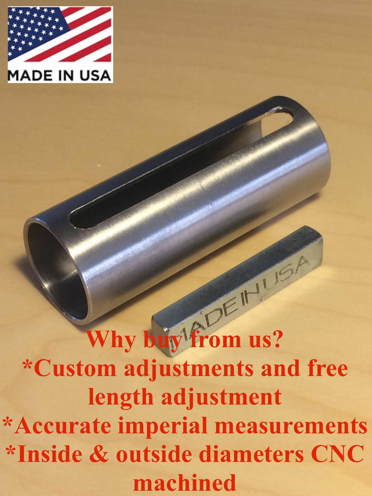 "1/"" to 1 1//8/"" inch 1//4/"" Key Gas Engine Pulley Crank Shaft Sleeve adapter Predator"