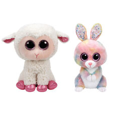 TY Beanie Boos - SET of 2 Easter (Bubby & Twinkle) (Medium 9 inch) - MWMTs Boo