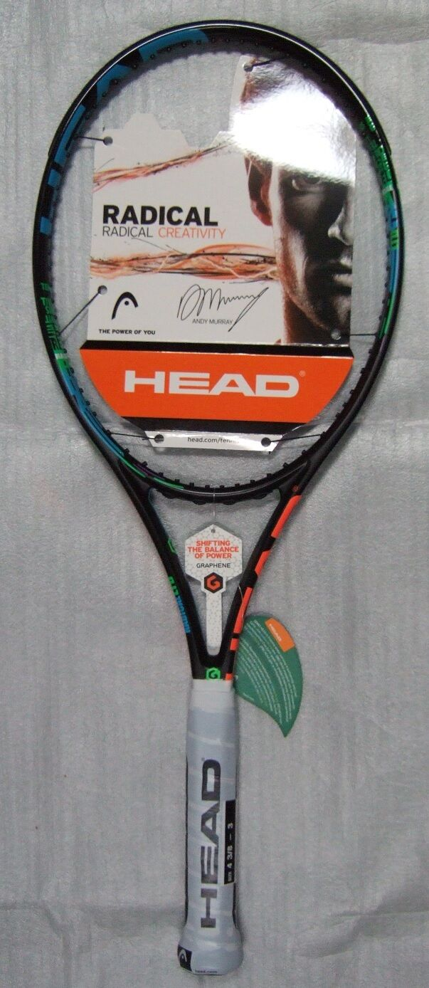 New HEAD GRAPHENE RADICAL MP LTD Limited Edition 4 3 8 Tennis Racquet Warranty