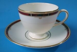 Details About Wedgwood Cup Saucer Colorado Pattern Leigh Style