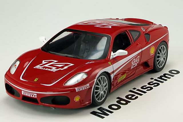 1:18 Hot Wheels Ferrari F430 Challenge 2005