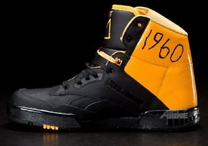 748f740f550 Swizz Beatz x Reebok Swizz Beatz x Reebok Black amp Yellows durable  modeling Image is loading REEBOK-X-JEAN-MICHEL-BASQUIAT-BB4600-HI ...