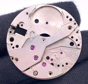 Eta-853-Main-Manuel-Vintage-32-mm-Pas-Fonctionne-pour-Pieces
