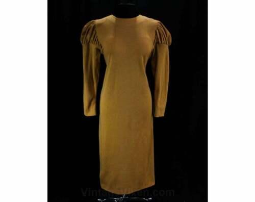 Size 14 Special Designer Dress Toffee Knit Juliet