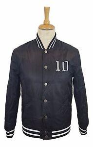 5d357a0db Details about #102 Mens Projekts LA City of Angels Black Bomber Padded  Varsity Sports Jacket S