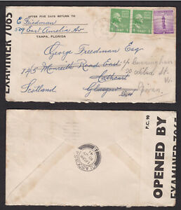 USA-United-States-1941-Censored-Cover-to-Scotland