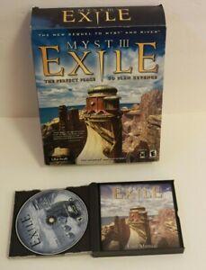 Myst III: Exile Game Windows PC & Mac Retro Computer Games Vintage 2001