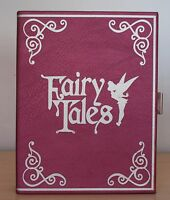 Primark Disney Tinkerbell Tinker Bell Fairy Tales Book Gold Chain Clutch Bag