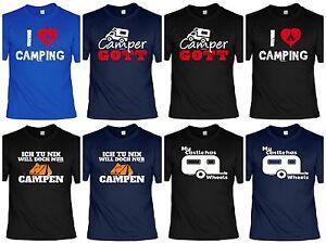 Camper T-Shirt - Camping Ausrüstung - lustige Sprüche ...