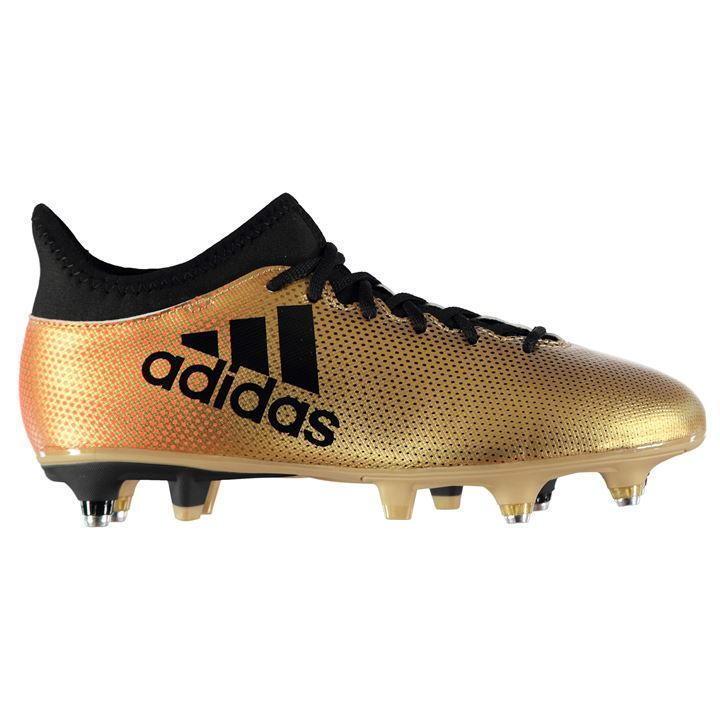 adidas X 17.3 Mens SG Football Boots UK 10 US 10.5 EUR 44.2/3 REF 367*