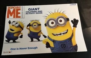 Despicable-Me-coloring-and-activity-book-Brand-New