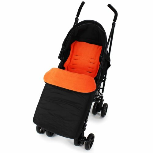 Buddy Jet Footmuff For Hauck London All in One Travel System Cross//Grey