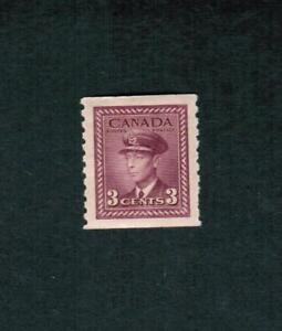 1948  CANADA COIL STAMP 9.5   #  280 MINT  KING GEORGE VI WAR ISSUE  FR-18