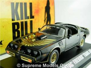 Image Is Loading Kill Bill Pontiac Firebird Trans Am Model Car
