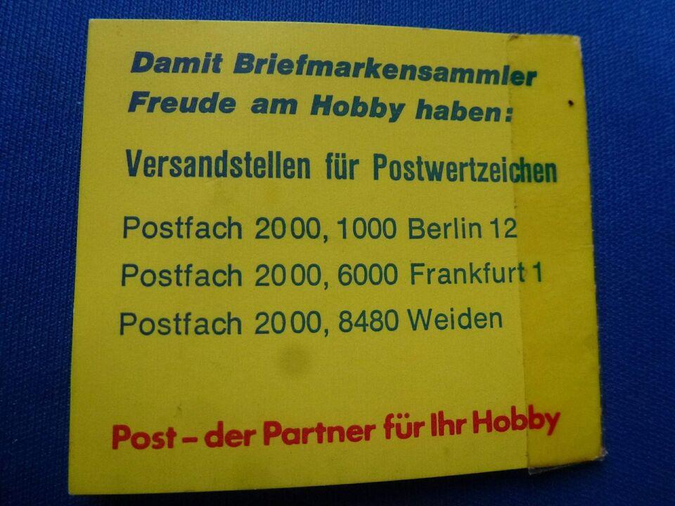 Tyskland, postfrisk