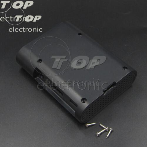 Cooling Fan Transparent//White//Black ABS Raspberry Pi Shell Transparent Case
