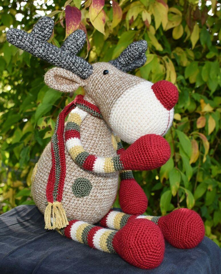 Jule-rensdyr, håndarbejde