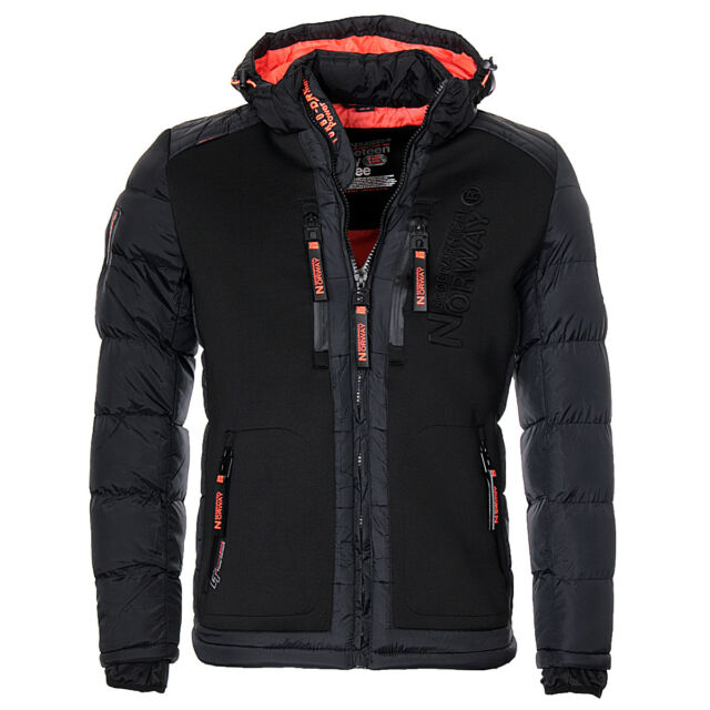 Hombre Brevster Geographical Norway Invierno Parka Chaqueta Guateada Iqx0xBwtR