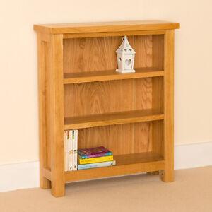 Image Is Loading Newlyn Oak Small Bookcase Light Handcrafted Bookshelf