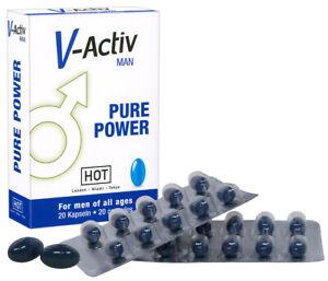Potenza Stimolatore Erezione Uomo V-Activ for Men Integratore Sessuale Maschile