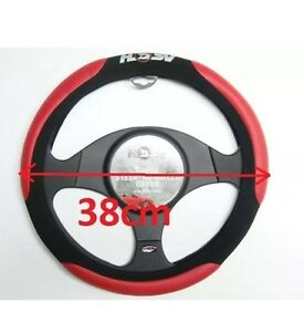 Hsv-Steering-Wheel-Cover-Red-And-Black