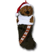 Star Wars Chewbacca Plush Christmas Stocking Official Disney Merchandise