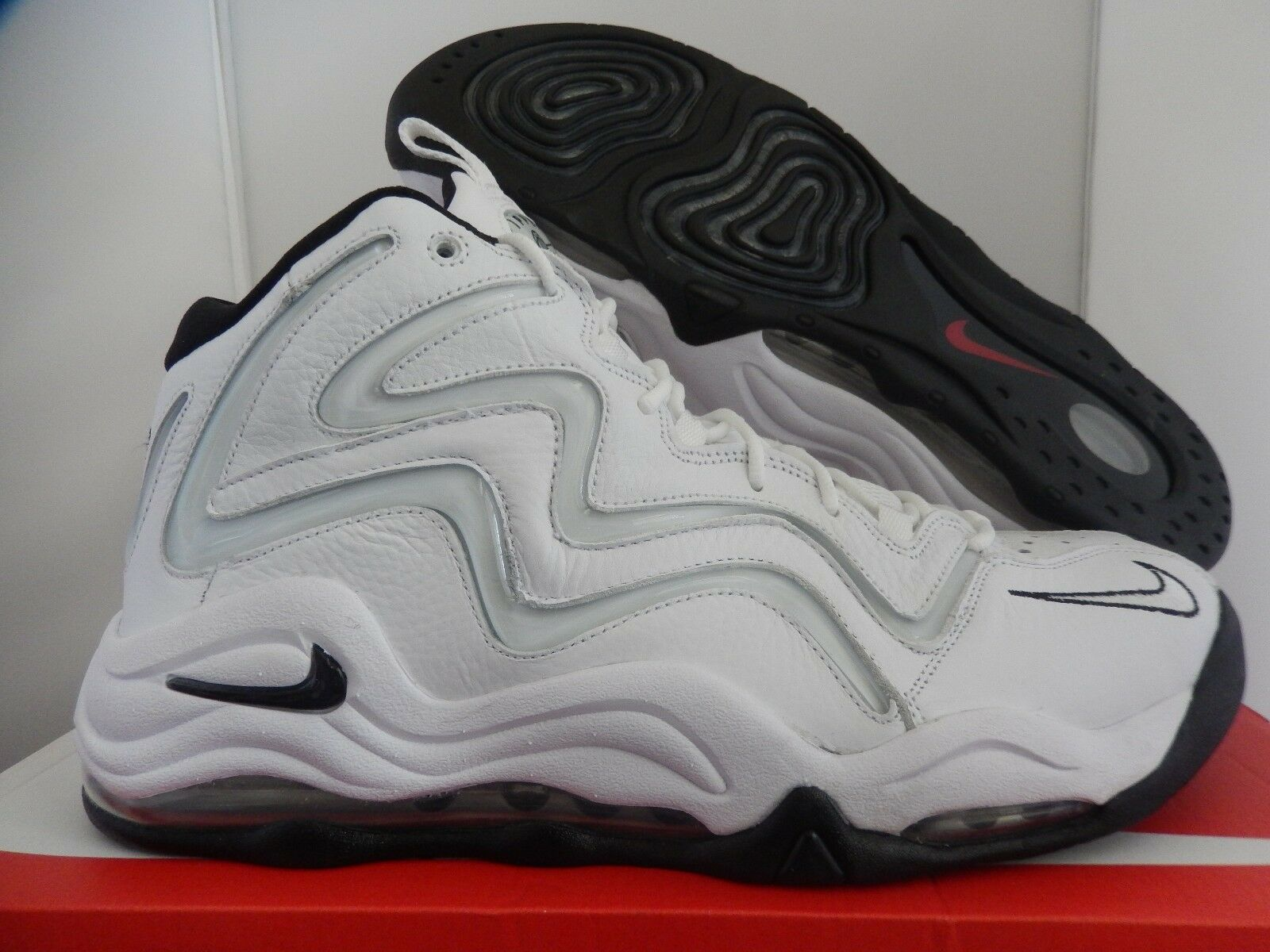 Nike Air Pippen Blanco-Negro-varsity red-metallic Plata reducción de precios nuevos mujeres, zapatos para hombres y mujeres, nuevos el limitado tiempo de descuento 70550a
